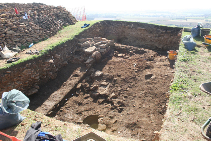 Ham Hill trench 3